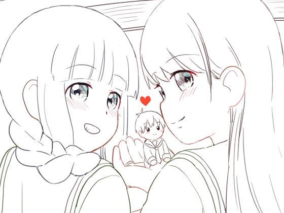 【無料】北上お姉ちゃんと大井お姉ちゃん