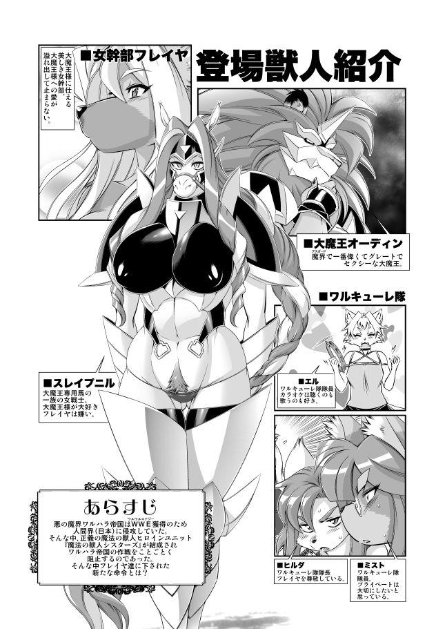 魔法の獣人フォクシィ・レナVol.111