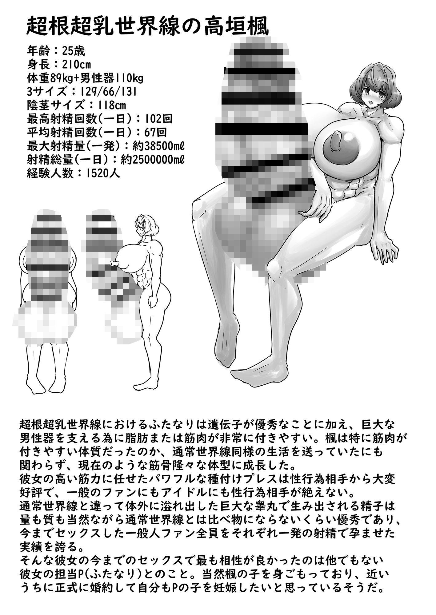 超根超乳世界線のアイドル名鑑2のサンプル画像6