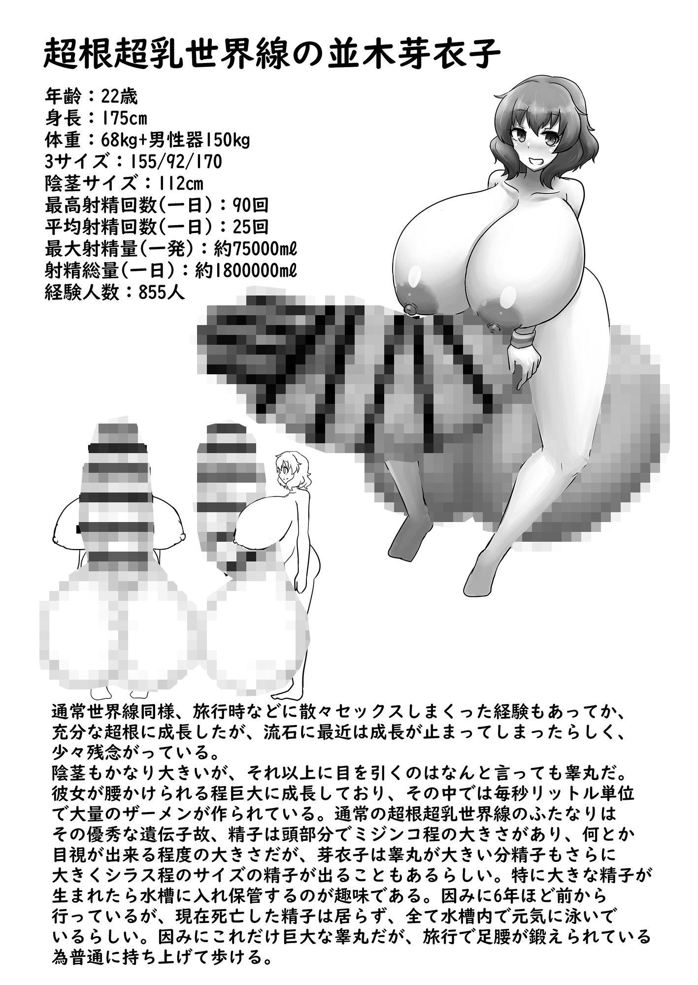 超根超乳世界線のアイドル名鑑2のサンプル画像8