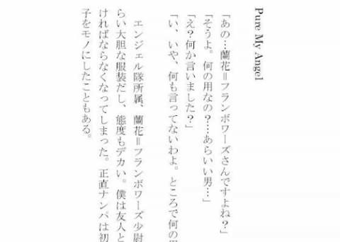 妄想ノート Vol.4 Pure My Angel