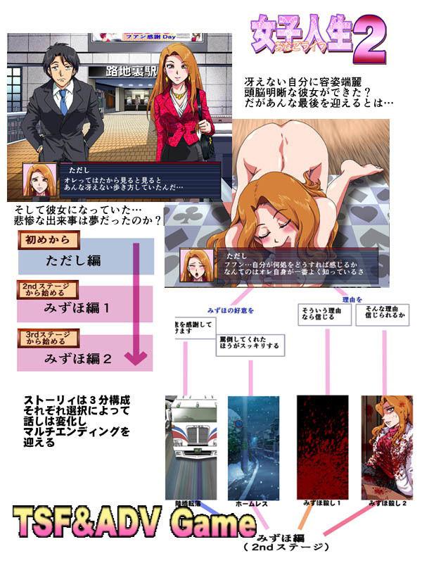 【ろじうら館 同人】女子人生2