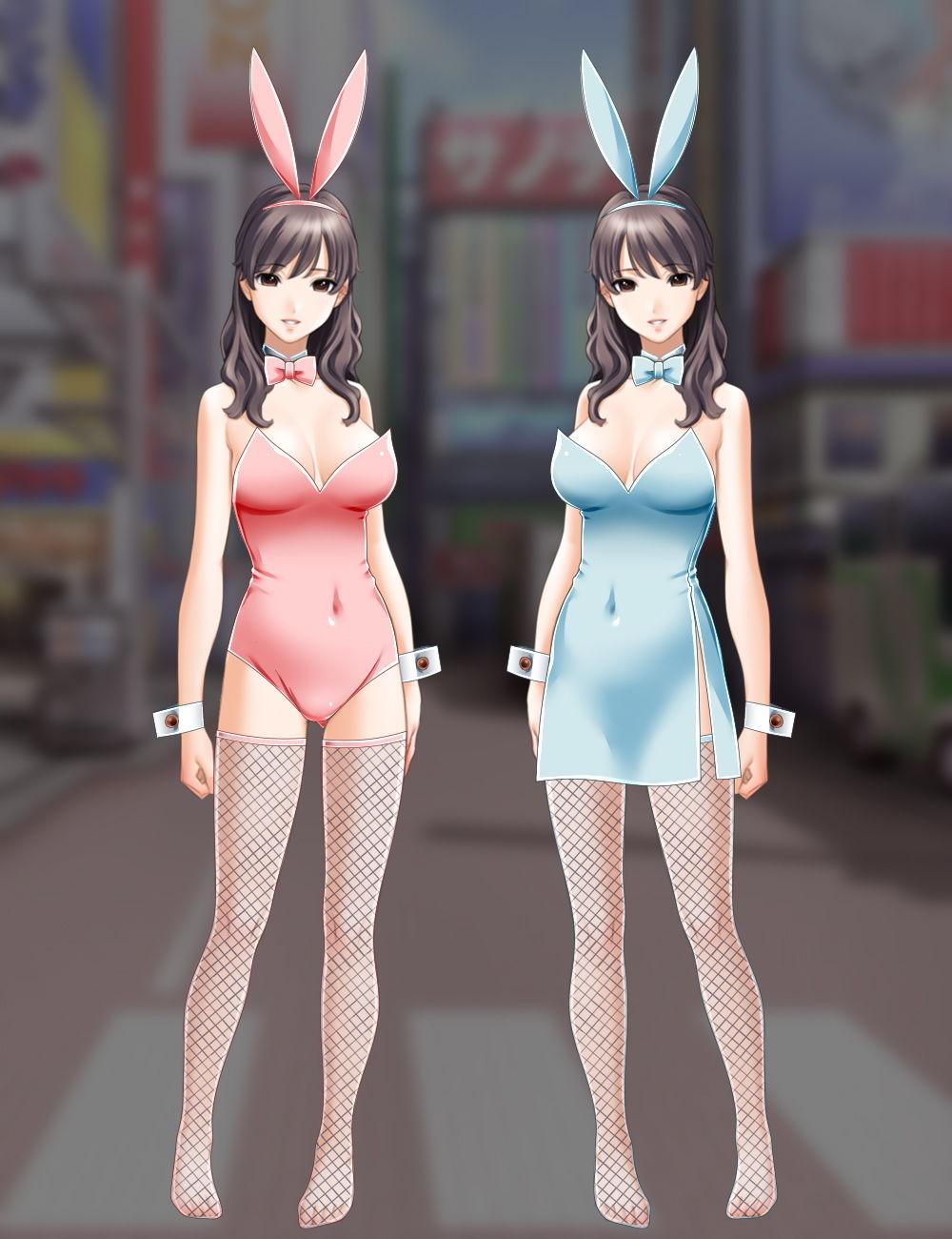 【ワンピース 同人】佐野俊英があなたの専用原画マンになります衣装素材集B-バニーガール-