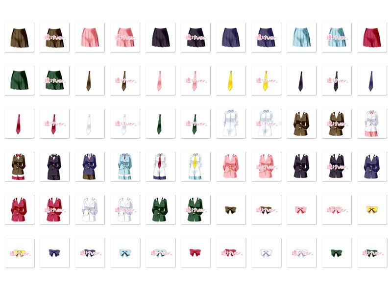 【White Candy 同人】佐野俊英があなたの専用原画マンになります衣装素材集A-ブレザー-
