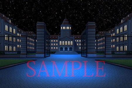 【キュキュキュのQのQ 同人】著作権フリー背景CG素材「お金持ちの学園」