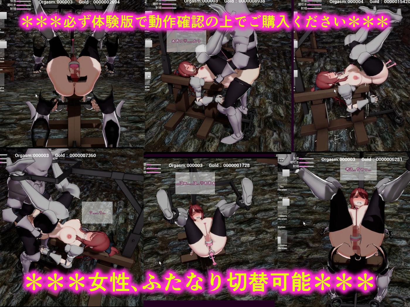 【NEWGAME! 同人】女騎士アメリアと闇の組織~リアルタイム3D拘束シミュ~