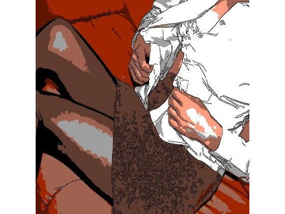 アニメ声ロリ人妻ちゃんをソファの対面座位で股間を擦りつけながらフェザータッチ前戯。ぐちょぐちょになったま〇こを騎乗位で味わいます