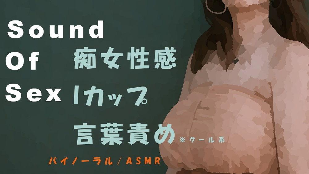 【ヨルマガ! -ASMR Night Life Media- 同人】SoundOfSex~クールなIカップ美女がM男にバイノーラルマイクをつけさせて痴女性感!前立腺・聖水・フェラ音高音質バイノーラル/ASMR