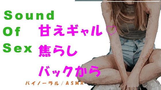 Sound Of Sex-甘えん坊ギャルを焦らして焦らしてバイノーラルマイクをつけてバックから●す! HQバイノーラル/ASMR/催●音声/音フェチ