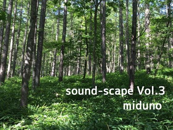 自然音 - 北八ヶ岳 - 朝の風景01 (バイノーラル録音)