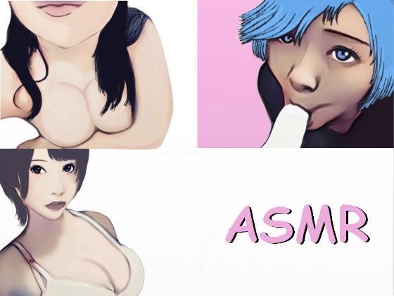 【ASMR】耳の奥まで最高に気持ちいい、生音のれろれろ耳舐めとフェラチオ